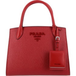 Handbag Monochrome Prada Bag In Saffiano Leather