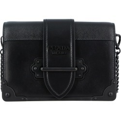 Mini Bag Cahier Prada Bag In Saffiano Leather With Logo