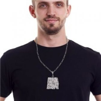 Bad Boy Bling Bling Necklaces by Windy City Novelties