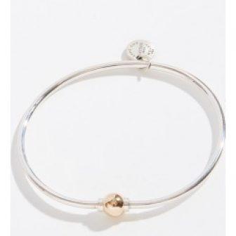 Cape Cod Jewelry Two-Tone Single Ball Cape Cod Jewelry Collection Bracelet
