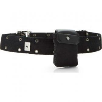 Christian Dior Black Oblique Canvas Belt Bag