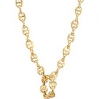 Heritage Classic Tri-Link 18K Yellow Gold Charm