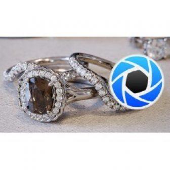 Jewelry rendering with KeyShot