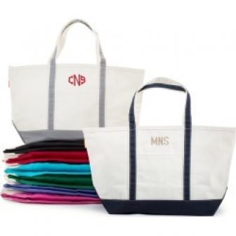 Large Canvas Boat Totes