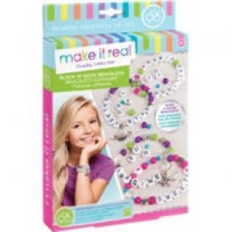 Make it Real Jewelry Collection Block N' Rock Charm Bracelets Kit
