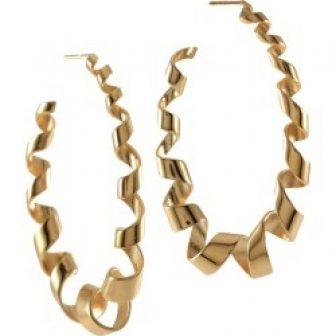 MARIE JUNE Jewelry - Loopty Loop Gold Earrings