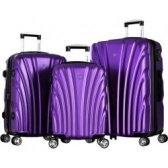 Olympia Luggage Vortex 3-pc. Luggage Set
