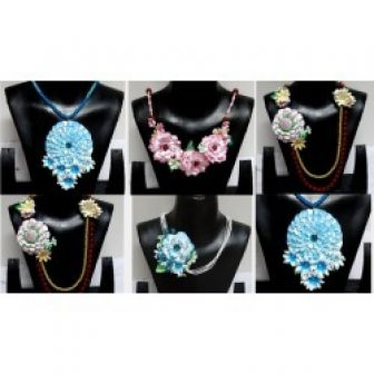 Paper Floral Jewelry