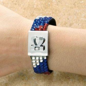 Patriotic Bling Bracelet
