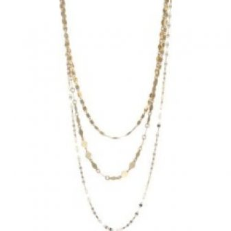 Three-Chain Necklace