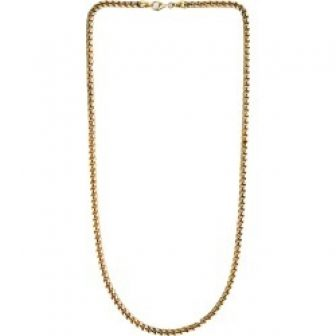 Undefined Jewelry - 4.5Mm Bold Franco Chain Necklace Gold