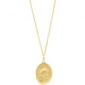 Vendaval Jewelry - Amour Gold Charm Necklace